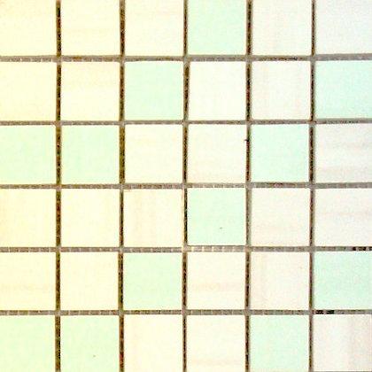 MOZ0006 мозаика 30.5х30.5 AL BLANCO-SALVIA 2.5x2.5