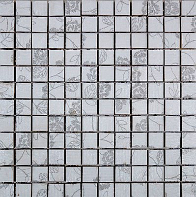 MOZ0014 Мозаика 30.5х30.5 FN BLAN. FL. MIX 2.5x2.5