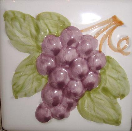 10х10 комплект 4 штук Decor Frut . blanco/ crema