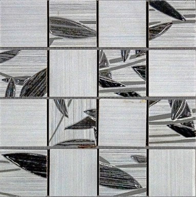MOZ0212 мозаика 30.5х30.5 CE F. GRIS DECOR 5x5