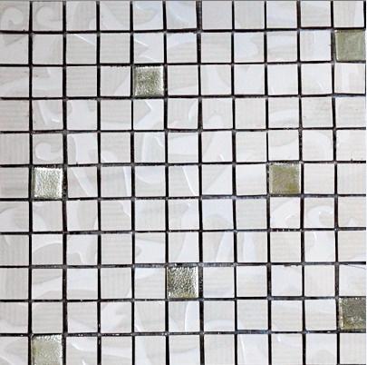 MOZ0064 мозаика 30.5х30.5 LP TIKAL GOLD 2.5x2.5