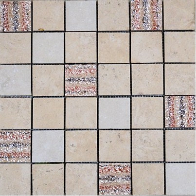 MOZ0172 мозаика 30.5х30.5 AM P-10, P-80 DECOR 5x5