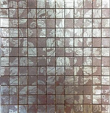 MOZ0088 мозаика 30.5х30.5 CE DAM. MARRON 2.5x2.5