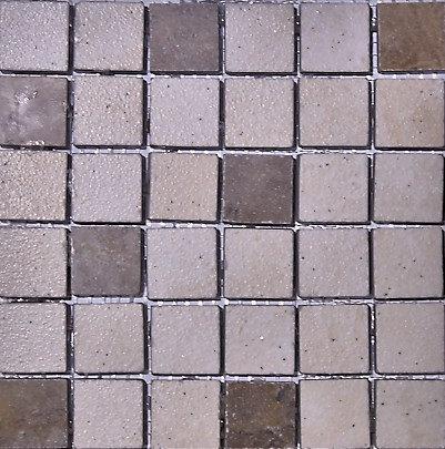 MOZ0219 мозаика 30.5х30.5 AM GOBI-SV MIX 2.5x2.5