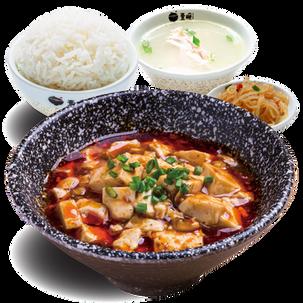 麻婆豆腐套餐