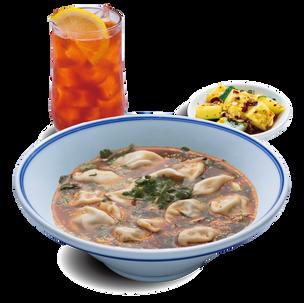 酸汤水饺套餐