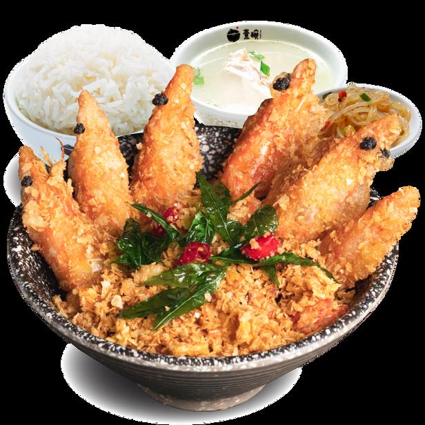 麦片虾套餐(5片)