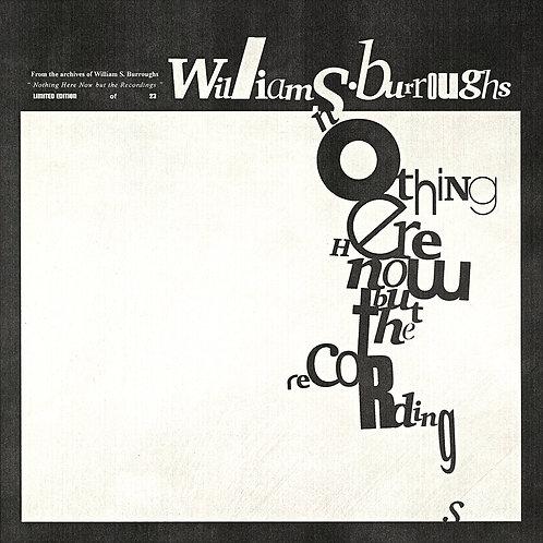 William S. Burroughs Art Edition LP