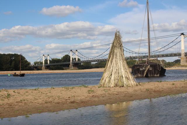 Découvrez la marine de Loire pendant la fête du chanvre à Montjean sur Loire.