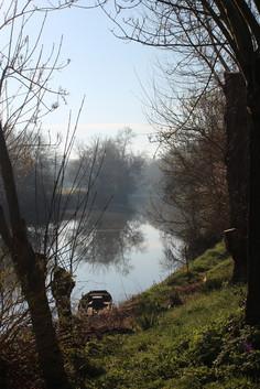 Vacances au calme en bord de Loire dans le gîte Murmures de Loire à Montjean