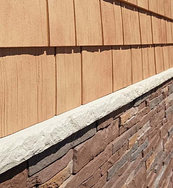 Siding for Lp smartside shakes coverage