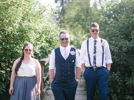Andrea & Jeff ~ A Rustic Chic Lakeside Wedding!