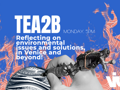 TEA2B n°02: On Environmental issues and solutions, in Venice and beyond!