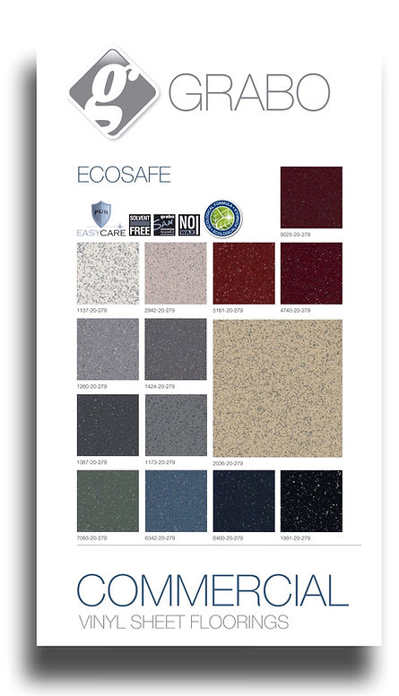 Graboplast ecosafe flooring products