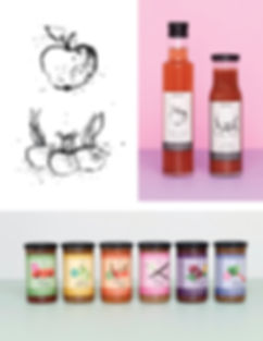 Etikketdesigns, etiketdesign, emballagedesign