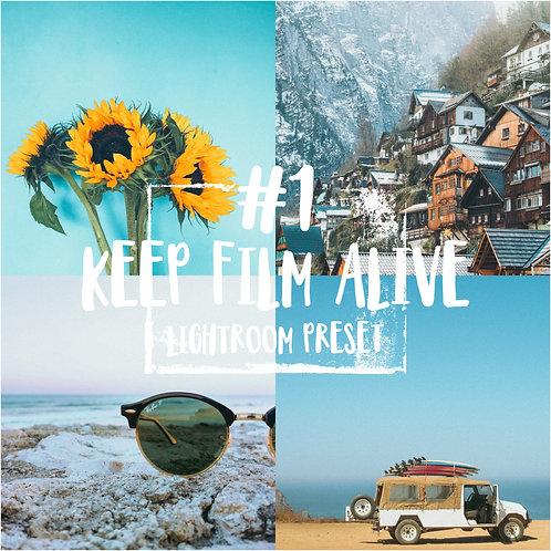 #1: Keep Film Alive- Lightroom Preset