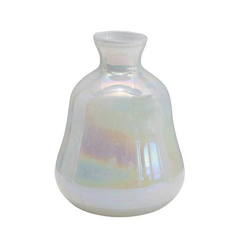 Pearl Iridescent Vase