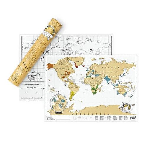 Scratch Map ® - Original Travel Edition