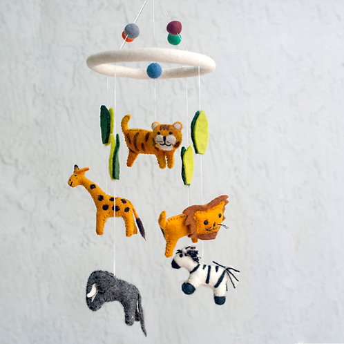 Jungle Animal Mobile
