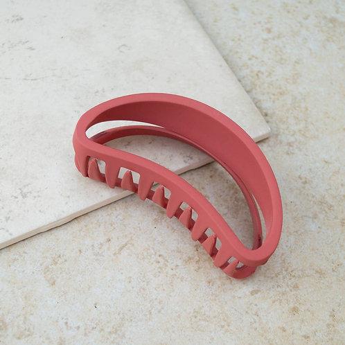 Brick Bean Hair Claw Clip