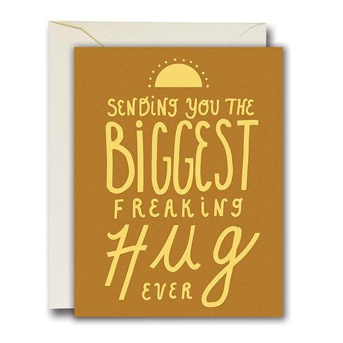 Biggest Hug Card