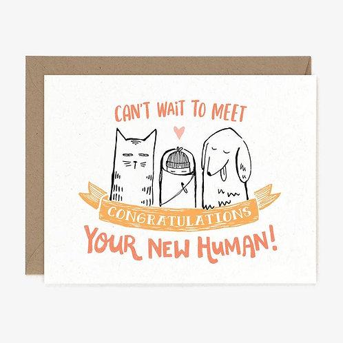 New Human Card