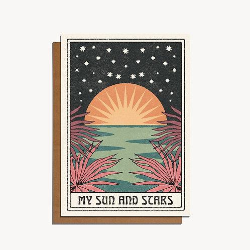 My Sun & Stars Card