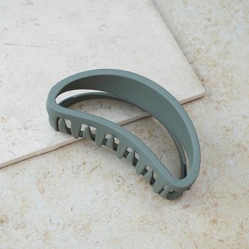 Green Tea Bean Hair Claw Clip
