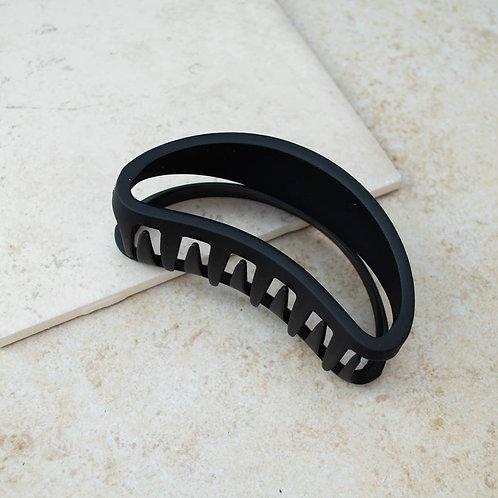 Black Bean Hair Claw Clip