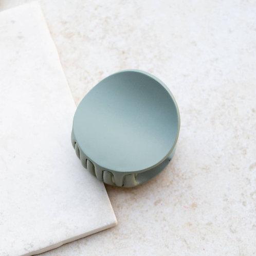 Dusty Sage Modern Hair Clip