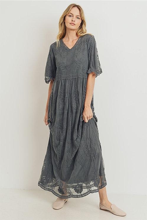 Yoli Lace Maxi Dress