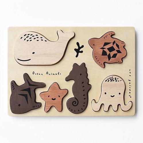 Ocean Animals Tray Puzzle