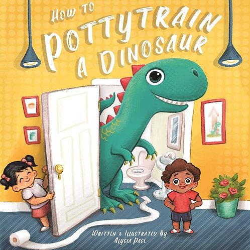 """How To Potty Train A Dinosaur"" Book"