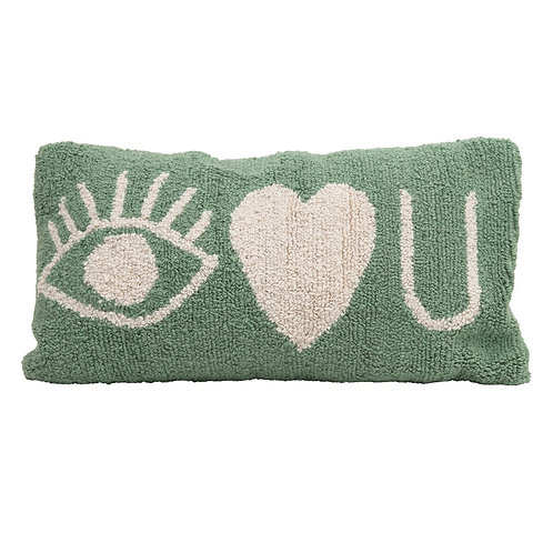 Eye Heart U Pillow