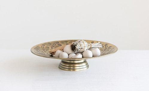 Decorative Brass Colored Storage Dish