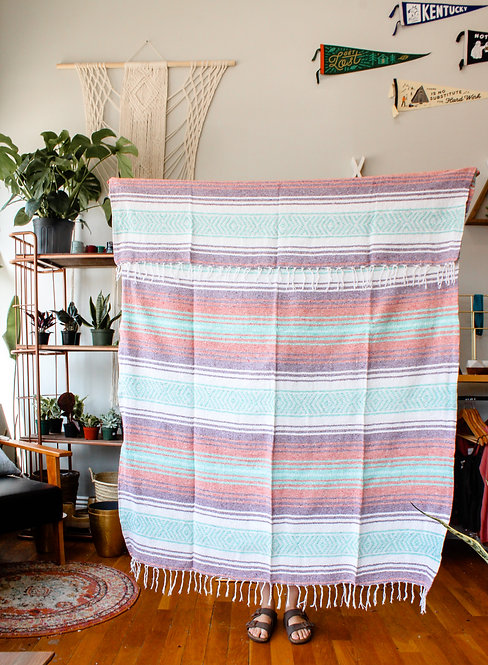 Mexican Style Yoga Blankets