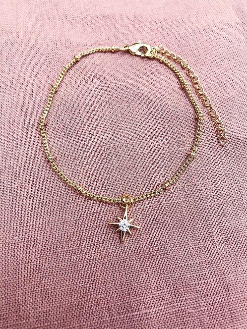 Dainty Star Diamond Bracelet