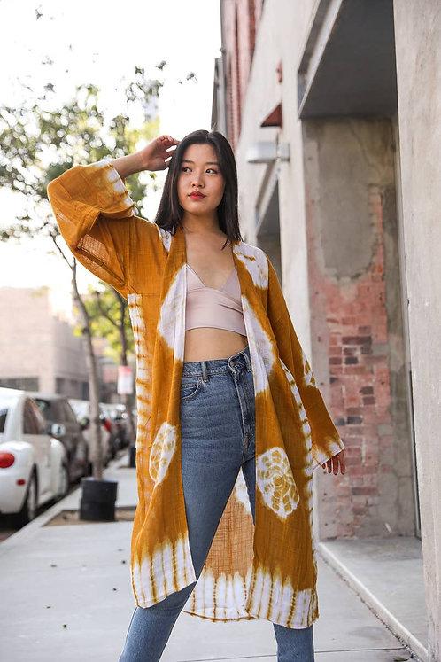 Zoe Tie Dye Kimono