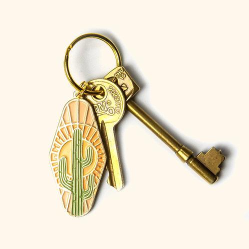 Desert Cactus Key Chain