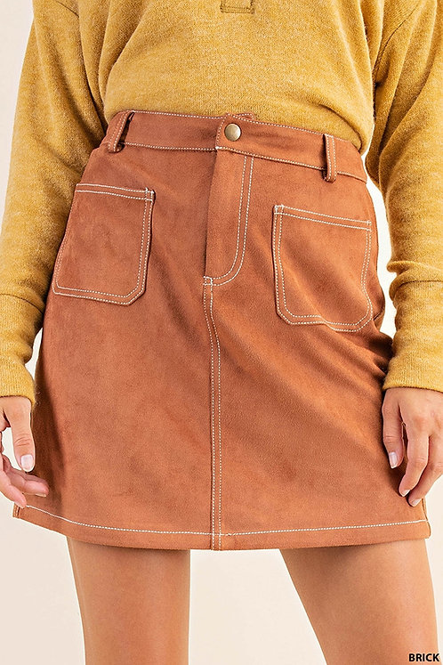 Codi Suede Skirt