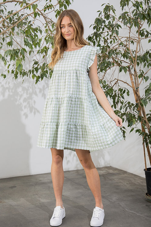Hailey Gingham Dress