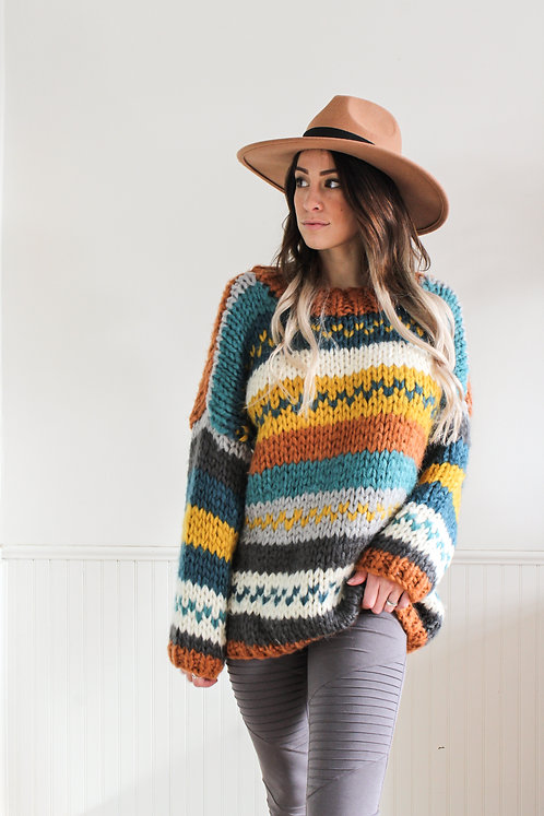 Tori Striped Sweater