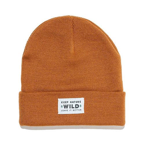 Keep Nature Wild Beanie - Copper