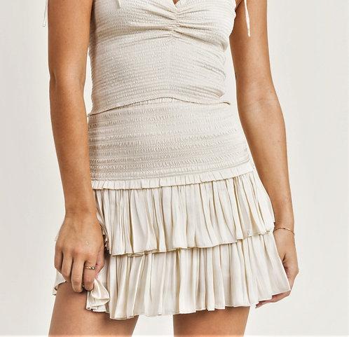 India Skirt - Cream