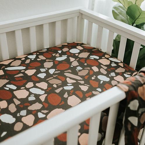 Terrazzo Crib Sheet
