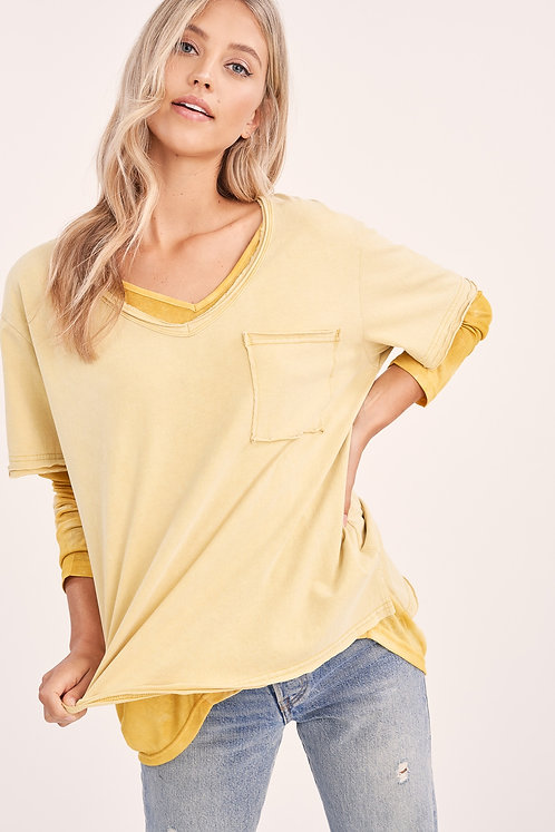 Sierra Tee - Yellow