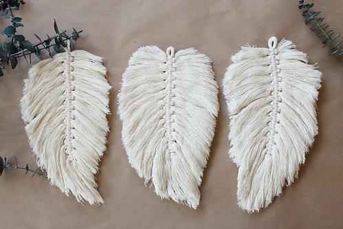 Macrame Feather/Leaf