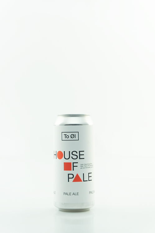 To Øl House Of Pale 0.33