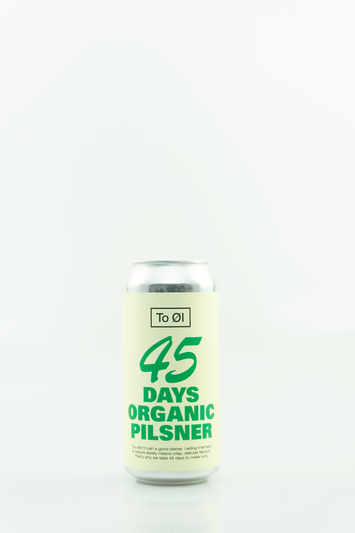 To Øl 45 Days Organic Pilsner