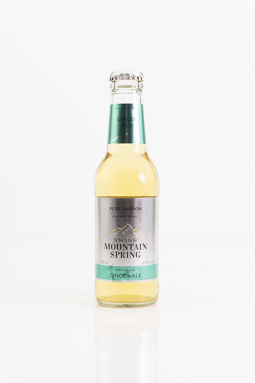 Swiss Mountain Spring -  Ginger Ale 0,2l